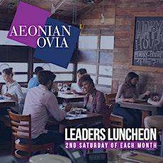 Leader's Luncheon W/ Joy & Stefan tickets