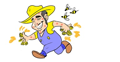 Girl Scouts Beekeeping class