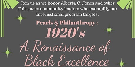 ALPHA CHI OMEGA CHAPTER PEARLS AND PHILANTROPHY - ALBERTA G. JONES tickets
