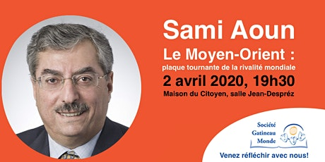 Conférence de Sami Aoun billets