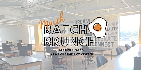 Batch Brunch: March 2020 (Co-Ed) tickets