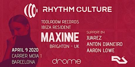 Rhythm Culture - Maxinne entradas