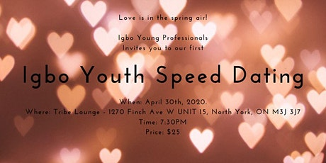 Igbo Youth Speed Dating tickets