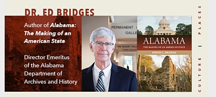 Writing Alabama: A Conversation with Historian Dr. Ed Bridges.