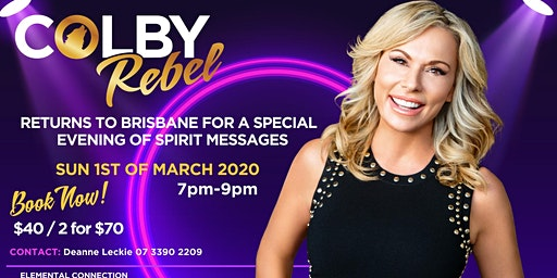 Redlands - Evening of Spirit Messages with Colby Rebel