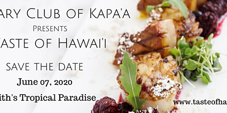 Taste of Hawai'i tickets