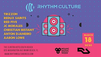 Rhythm Culture - Miami Music Week 2020 tickets