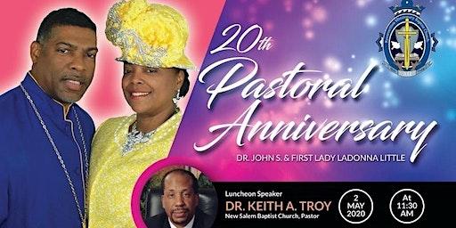 20th Pastoral Anniversary Dr John S Little Resurrection Missionary Baptist