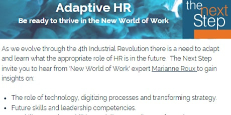 Adaptive HR Event Sydney CBD tickets