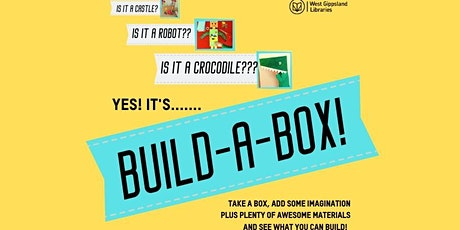 School Holiday Activity- Build-a-Box @ Drouin Library tickets