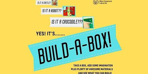 School Holiday Activity- Build-a-Box @ Drouin Library