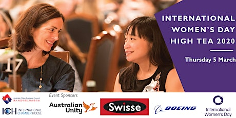 ACBC Vic: International Women's Day High Tea 2020 tickets
