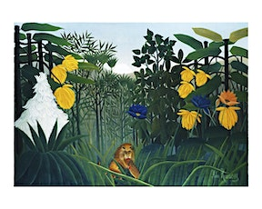 Art Class for Kids–ROUSSEAU INSPIRED JUNGLE SCENES tickets