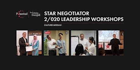 Culture Module - Star Negotiator 2/020 Leadership Workshops tickets