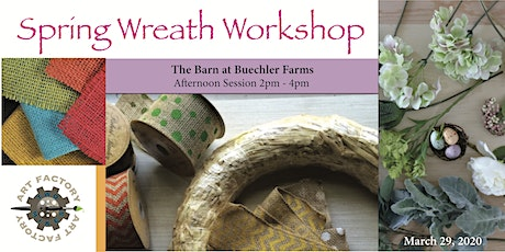 Spring Wreath Workshop Afternoon Session tickets