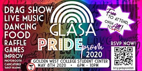 GLASA's Pride Prom 2020 tickets