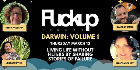 Fuckup Nights Darwin: Volume 1 tickets