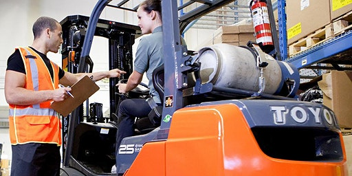 TLILIC2003 License to operate a forklift truck