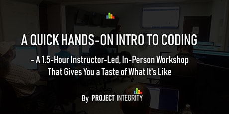 A Quick, Hands-On Intro to Coding - IT Training tickets