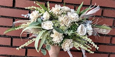 Sola Wood Flower Boho Bouquet Workshop