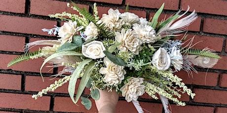 Sola Wood Flower Boho Bouquet Workshop tickets