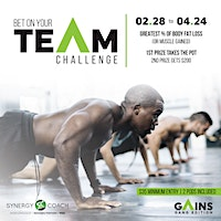 Bet on your TEAM challenge