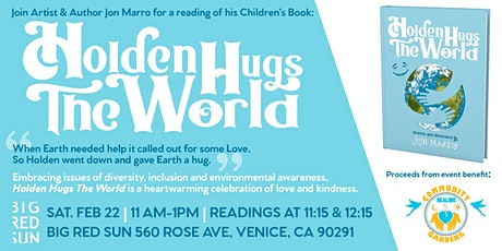 Holden Hugs the World-  Book Launch, reading & signing tickets