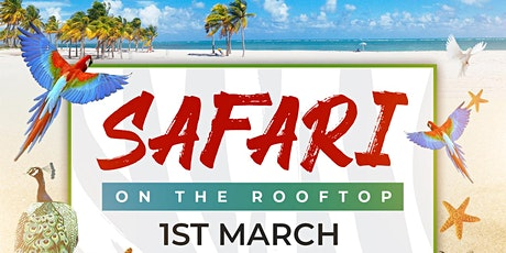 Safari On The Rooftop | Labour Day (LongWeekend) tickets