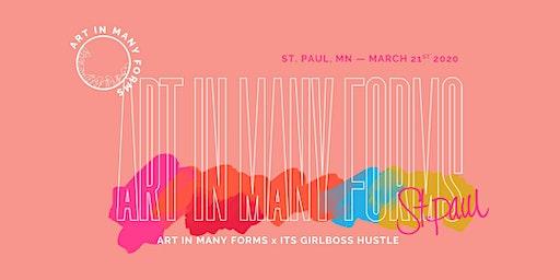 Art In Many Forms x Its GirlBoss Hustle