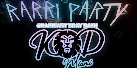 Rarri Party tickets