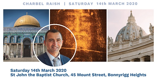 Men's Breakfast with guest speaker Charbel Raish, Saturday 14th March 2020