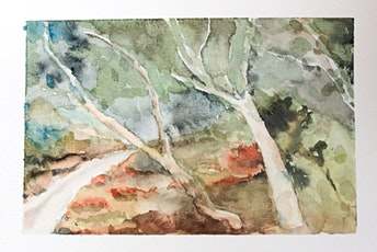 Landscape Watercolour painting at Westgate Park tickets
