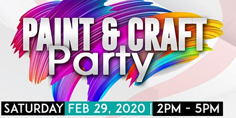 Meant to Be BFF Valentine's Paint & Craft Party Ages 5-13 tickets