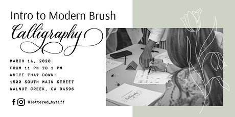Introduction to Modern Brush Calligraphy tickets