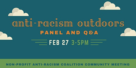 NPARC presents Anti-Racism Outdoors: Panel and Q&A tickets