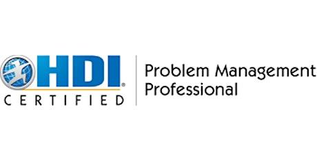 Problem Management Professional 2 Days Training in Hamburg tickets