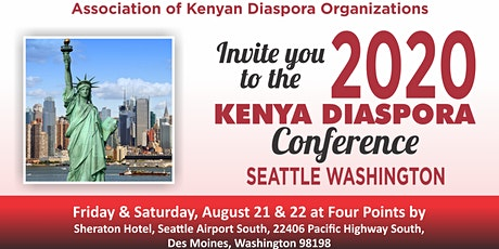 2020 KENYA DIASPORA CONFERENCE tickets