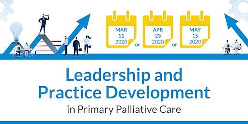 Leadership Training in Primary  Palliative Care Program