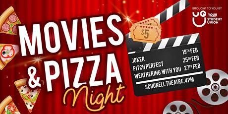 UQU Pizza and Movie tickets