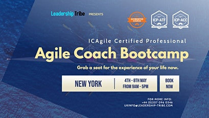 Agile Coach Bootcamp (ICP-ATF & ICP-ACC) | New York - May 2020 tickets