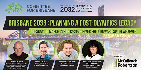 Brisbane 2033 - Planning a post-Olympics legacy tickets