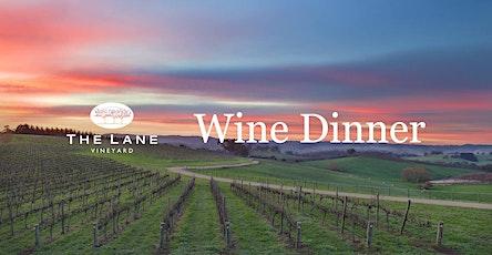 The Lane Vineyard Wine Dinner tickets