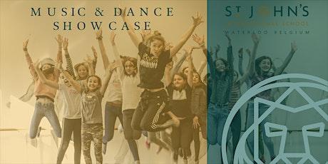 Music & Dance Showcase billets
