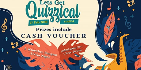 Let's Get Quizzical: February Edition tickets