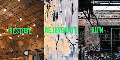 Restore: Rejuvenate: Ruin -  Managing built heritage post-disasters ingressos
