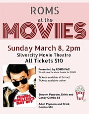 ROMS at the Movies: Ferris Bueller's Day Off tickets