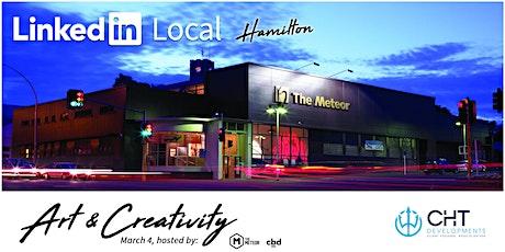 LinkedIn Local Hamilton - Art & Creativity tickets