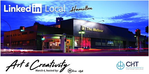 LinkedIn Local Hamilton - Art & Creativity