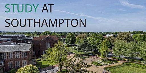 Speak with specialists and lecturers from the University of Southampton