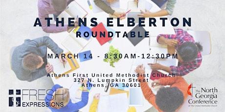 Roundtable - Athens Elberton District (GA) tickets